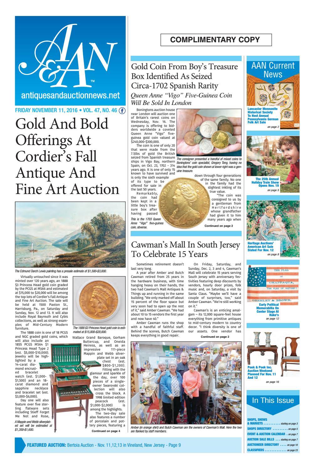 Antiques & Auction News 111116 by Antiques & Auction News