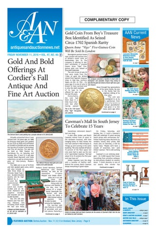 Antiques U0026 Auction News 111116 By Antiques U0026 Auction News   Issuu