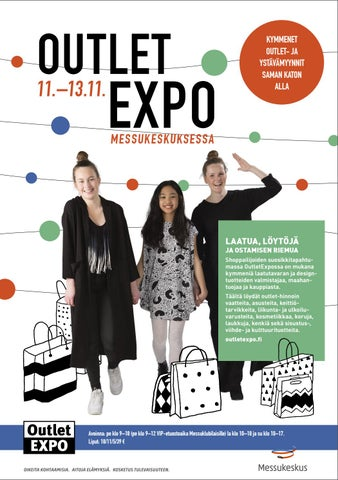 OutletExpo Syksy 2016 by Messukeskus - issuu 15b96cd6a7
