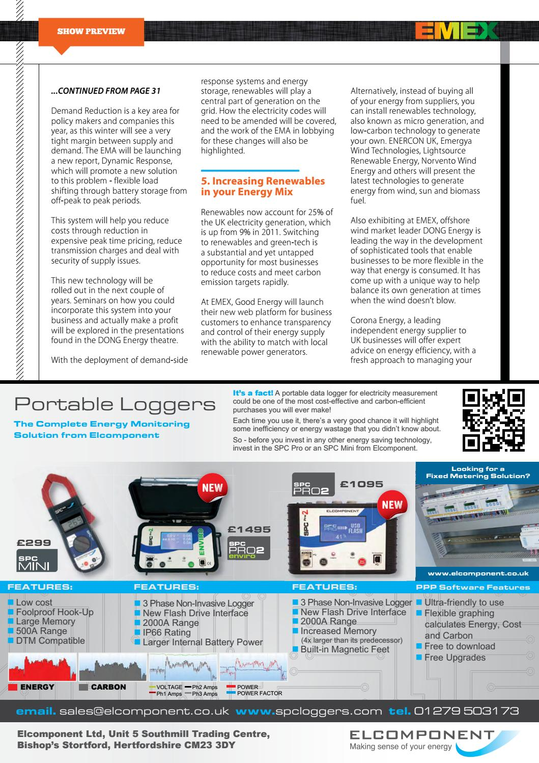 The EMA Magazine I November-December I EMEX Show Guide Issue