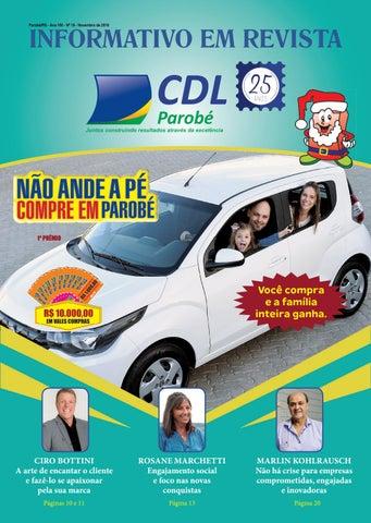 7f05e4e65 Revista CDL Negócios Ed.  Maio 2018 by Ivonete de Parobé - issuu