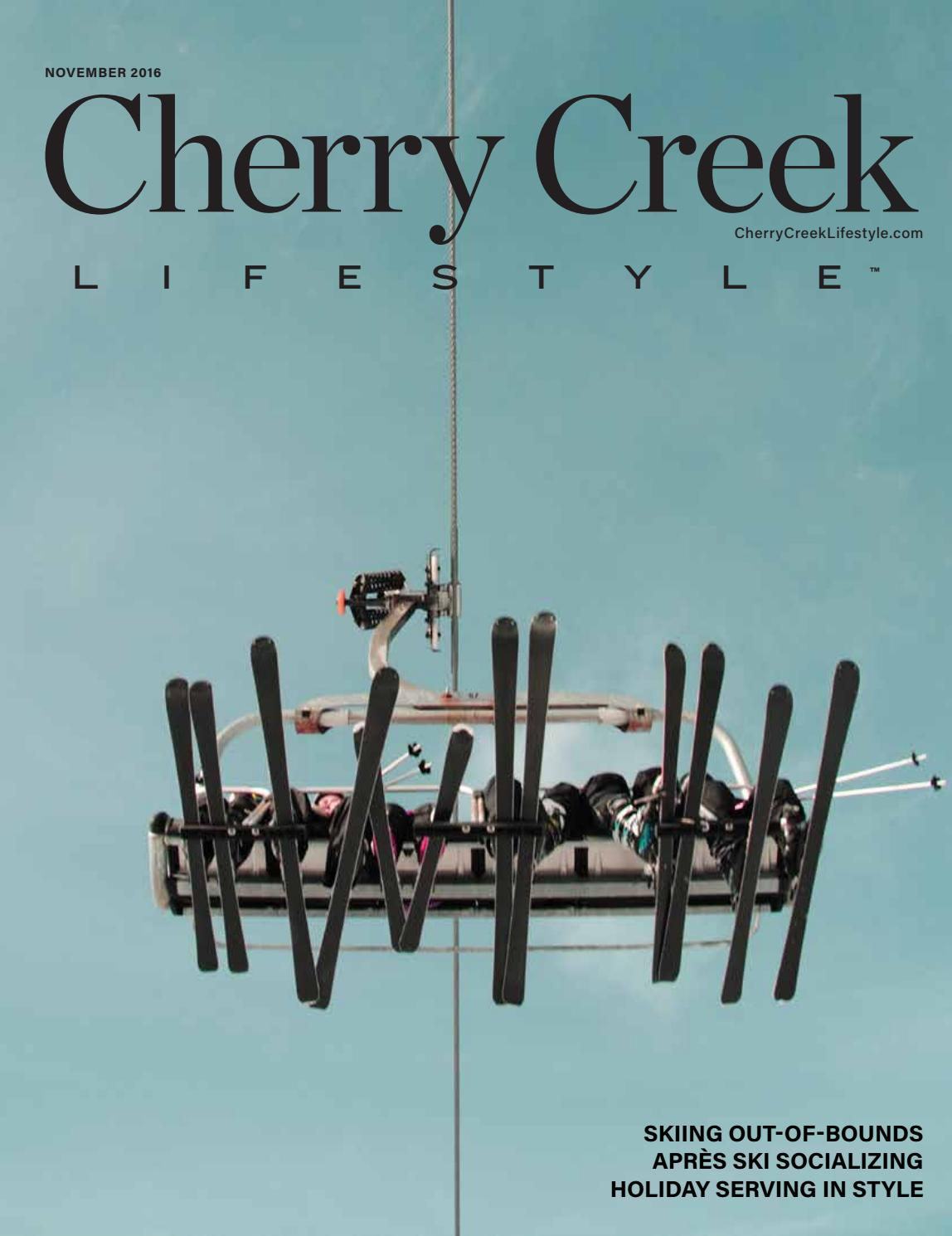 Cherry Creek November 2016 by Lifestyle Publications - issuu