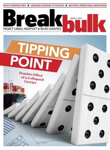 Breakbulk Magazine – Issue 5 2016 by Breakbulk Events
