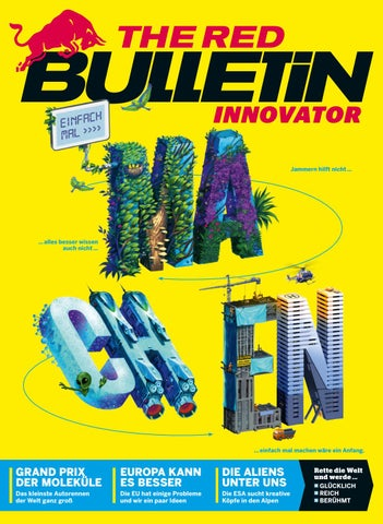 The Red Bulletin Innovator #2 - AT by Red Bull Media House - issuu