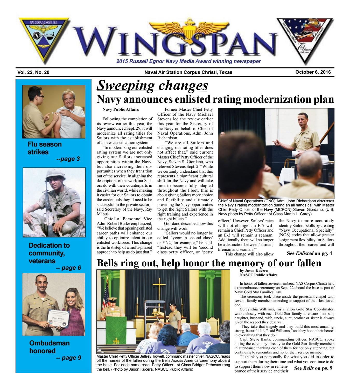 Nas Corpus Christi Wingspan Oct 6 By Nascc Public Affairs Issuu