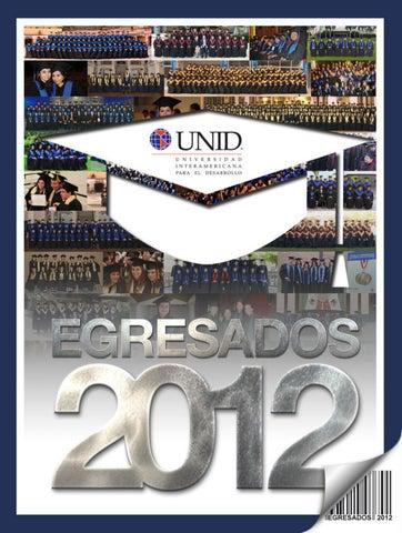 Egresados 2012 by RedUNID - issuu