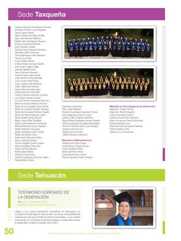 Egresados 2013 By Redunid Issuu