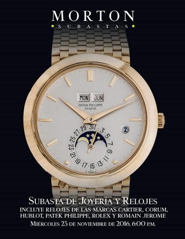 f287348b666 Subasta de Joyería y Relojes by Morton Subastas - issuu