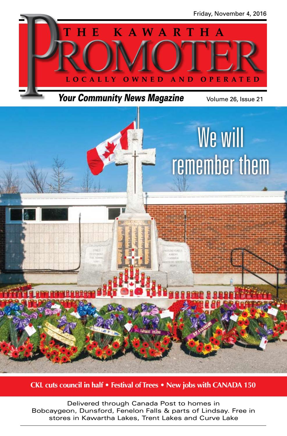 The Kawartha Promoter November 4 2016 By Max Miller Issuu