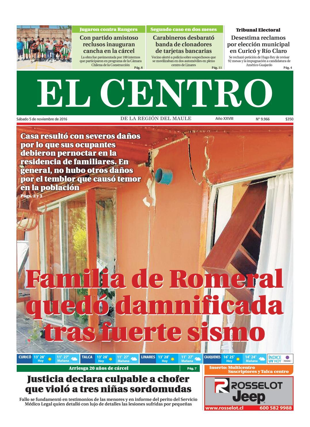 Diario 05-11-2016 by Diario El Centro S.A - issuu