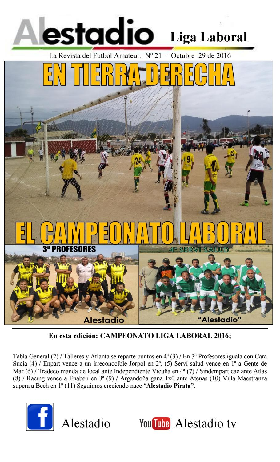 Al estadio laboral 21 by Daniel Barahona - issuu