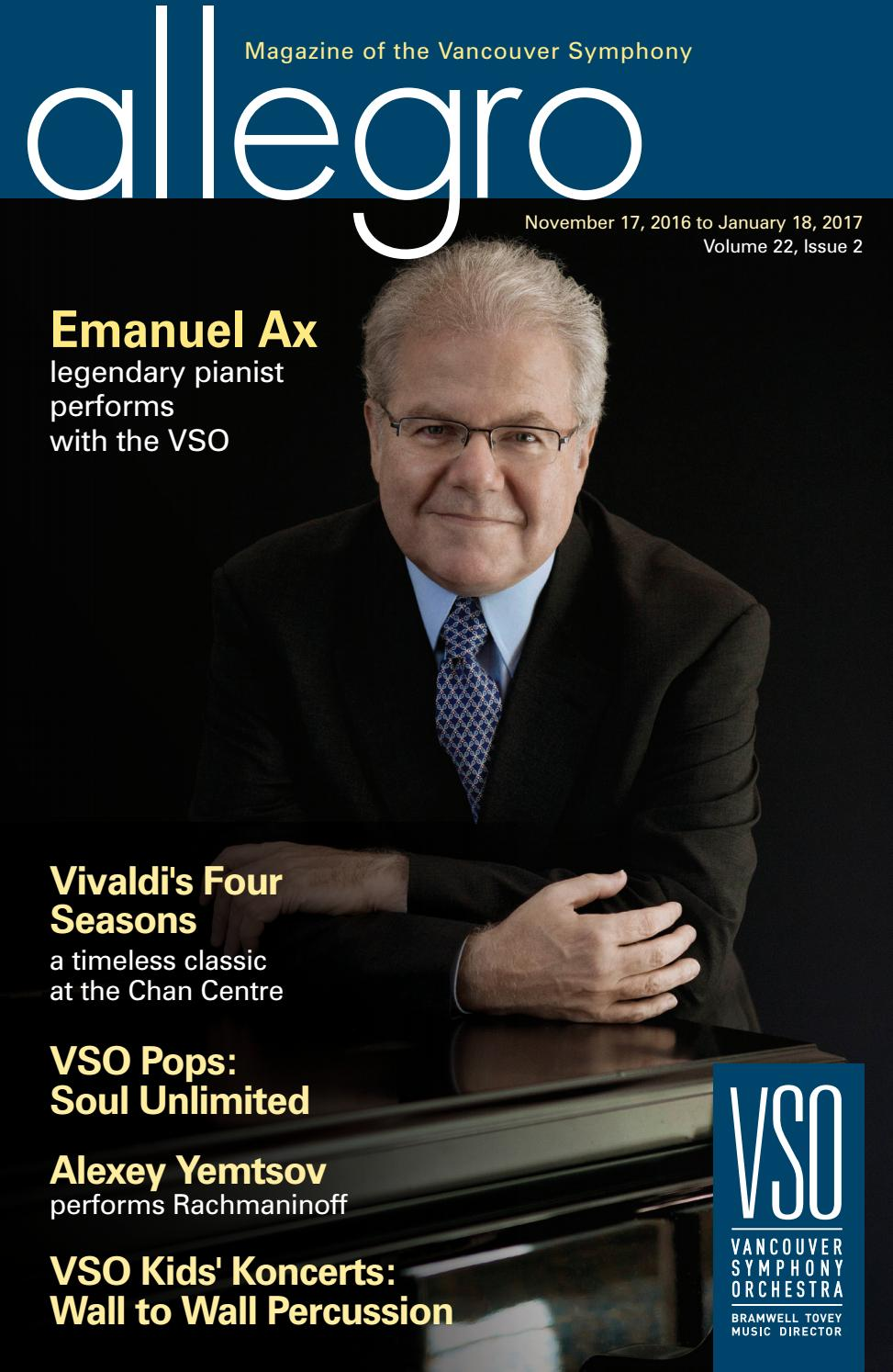 16 17 VSO Allegro Issue 2 By Vancouver Symphony Issuu