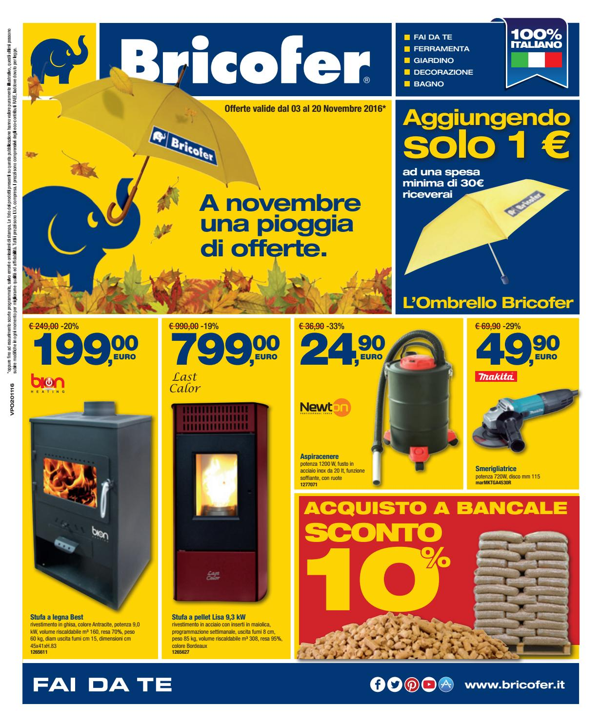 Volantino bricofer aversa novembre 2016 by bricofer aversa for Volantino bricofer