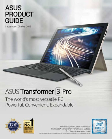 Cover of asus product guide