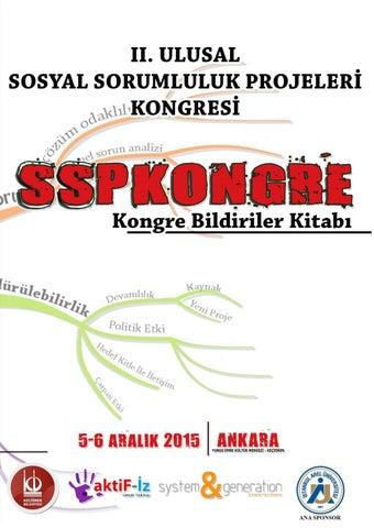 2 Ulusal Sosyal Sorumluluk Projeleri Kongresi Kitabı By Ali Ulucan