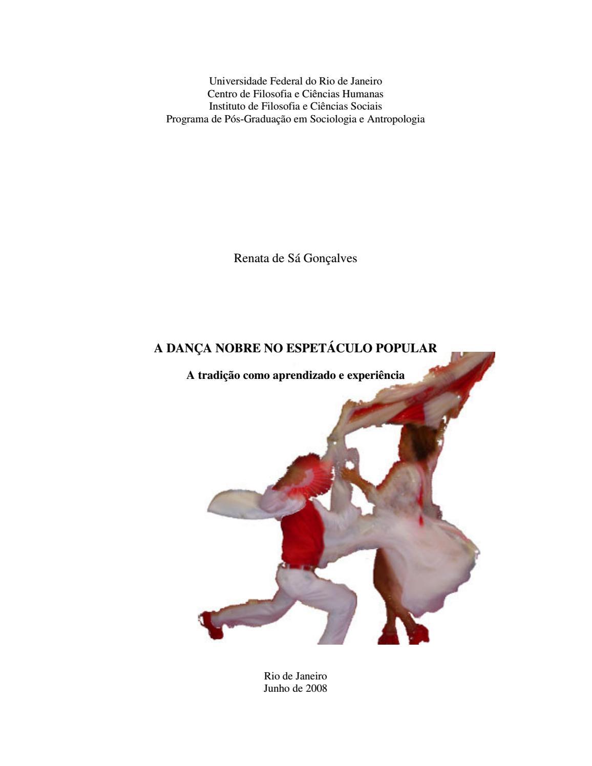 A dança nobre no espetáculo popular  a tradição como aprendizado e  experiência by Portal Academia do Samba - issuu 509b3e8096cd6