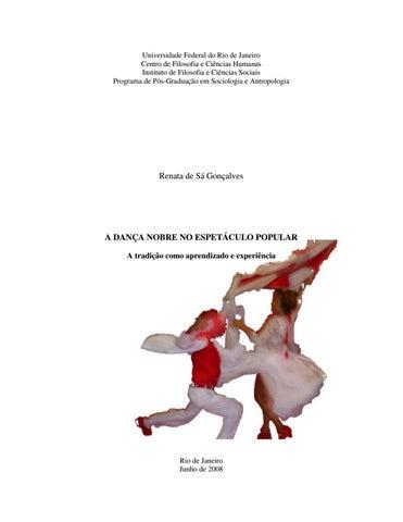 917d9cbb3d A dança nobre no espetáculo popular: a tradição como aprendizado e  experiência