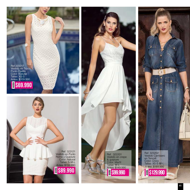 Catalogo punto roma vestidos 2019 outlet