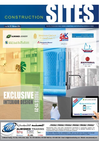 Construction sites november issue no 112 by qatar construction page 1 malvernweather Image collections