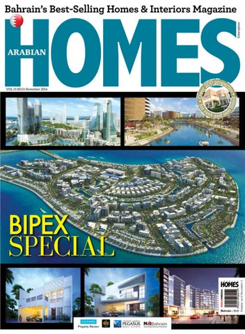 New arabian homes nov 2016 by MAXMEDIA BAHRAIN - issuu
