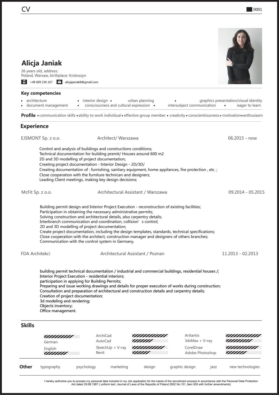 2016 janiak alicja eng cv by Alicja Janiak - issuu
