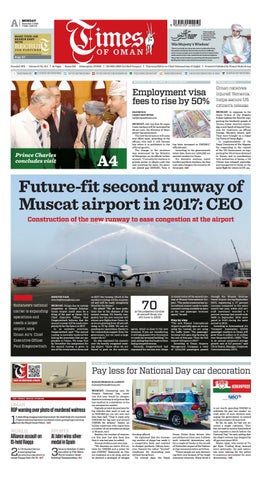Times of Oman - November 7, 2016 by Muscat Media Group - issuu