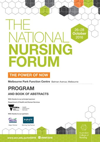 The national nursing forum program by acn australian college of page 1 fandeluxe Gallery