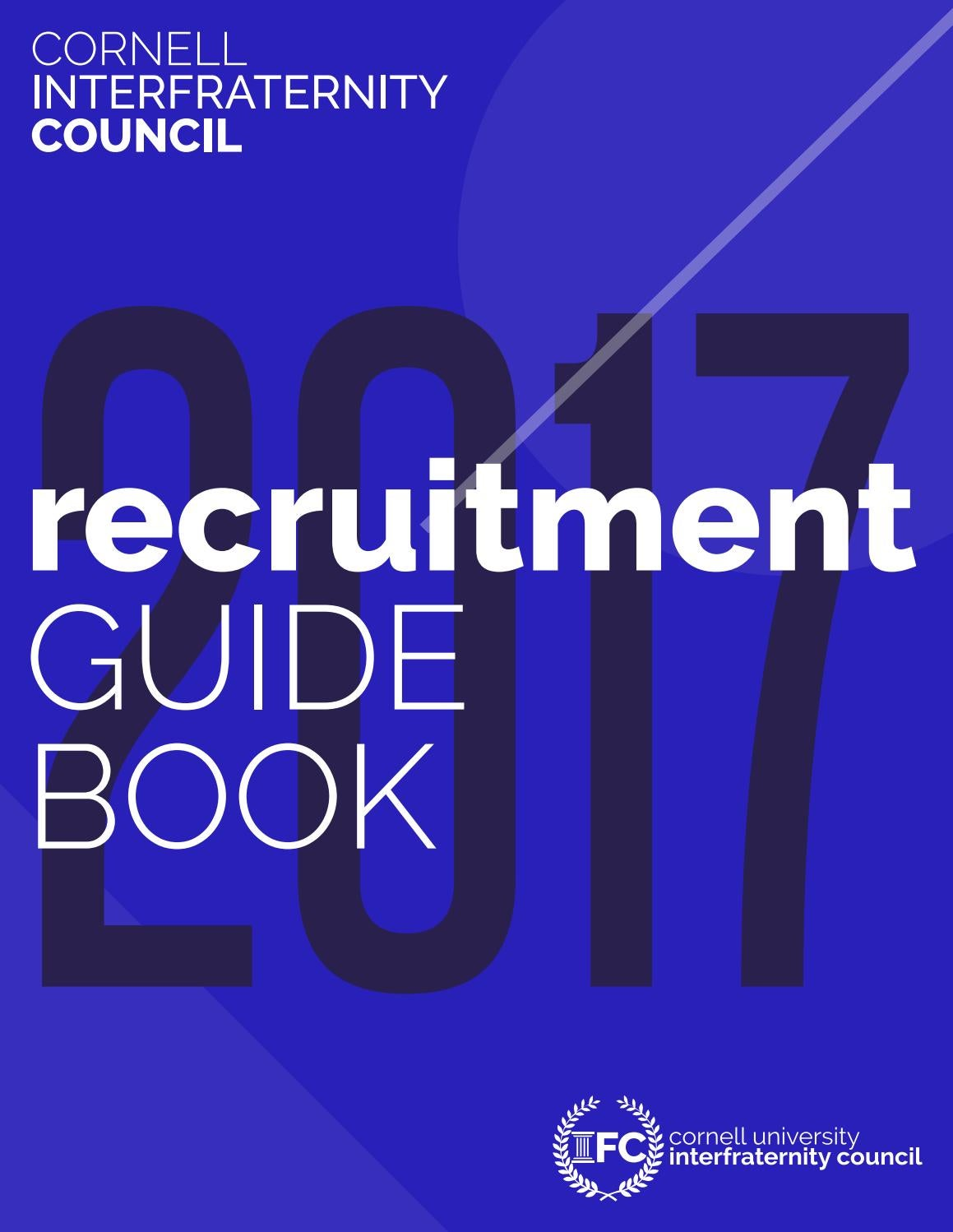 cornell likely letter cornell ifc recruitment guidebook 2017 by cornell ifc issuu 28697