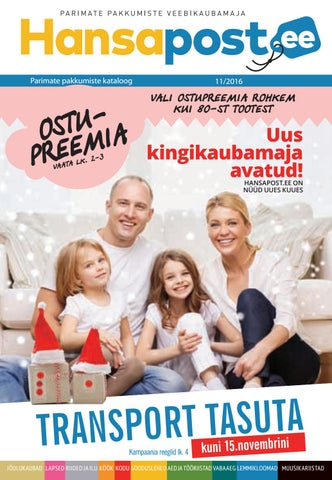 212f836cc2e Hansapost kataloog november 2016 by Hansapost OY - issuu