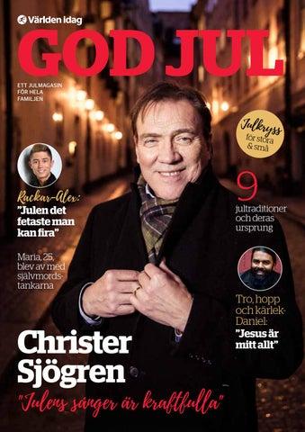 Christer sjogren ar redo for jul