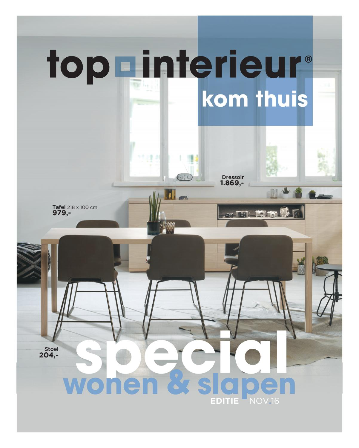Top Interieur - Wonen & Slapen november 2016 by Topinterieur - issuu