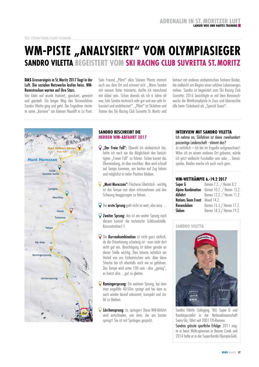 Blues Magazin Suvretta Sports 20162017 By Suvretta Sports St