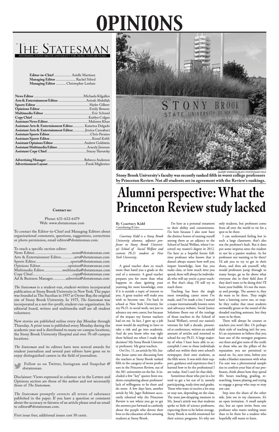 The Statesman 11-7-16 by The Statesman - issuu