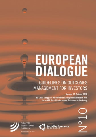 European Dialogue No 10: Guidelines On Outcomes Management For