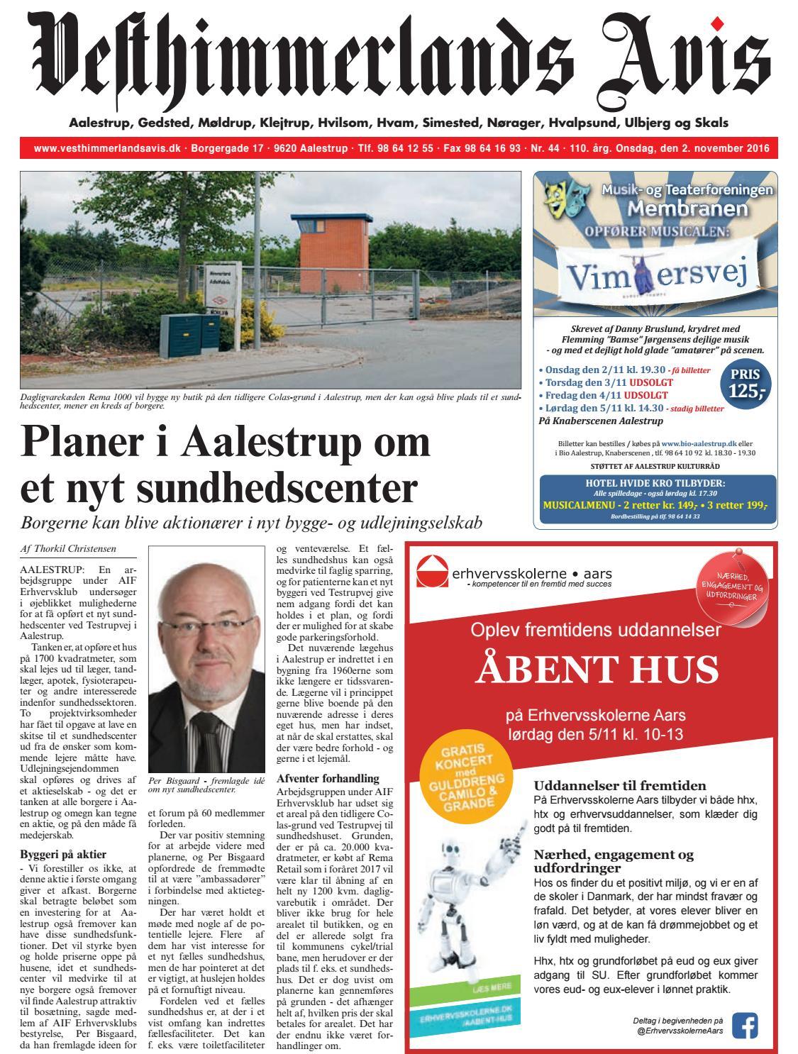 ba5d7c3b Vesthimmerlands Avis nr. 44 - 2016 by Vesthimmerlands Avis - issuu