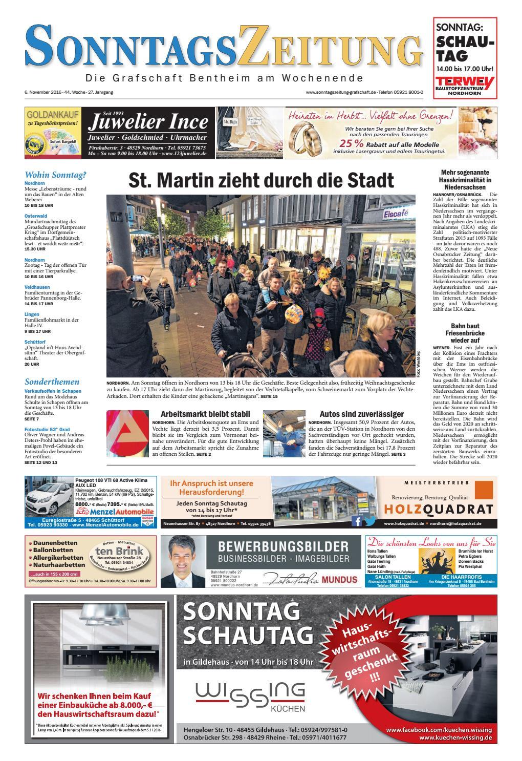 SonntagsZeitung_06-11-2016 by SonntagsZeitung - issuu