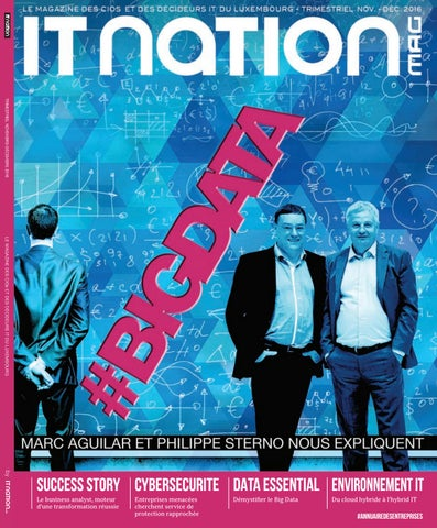 aa1c8e482a2eef ITnation Mag Novembre 2016 by ITnation Luxembourg - issuu
