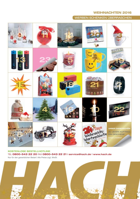Hach weihnachten 2016 by hach kg issuu