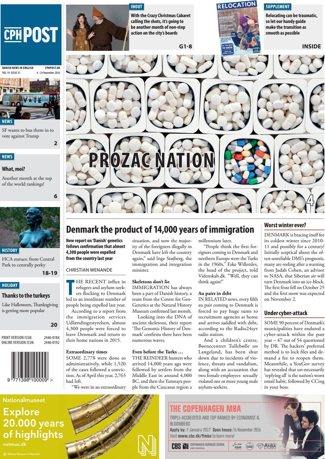 The Copenhagen Post, November 4 - November 24 by The