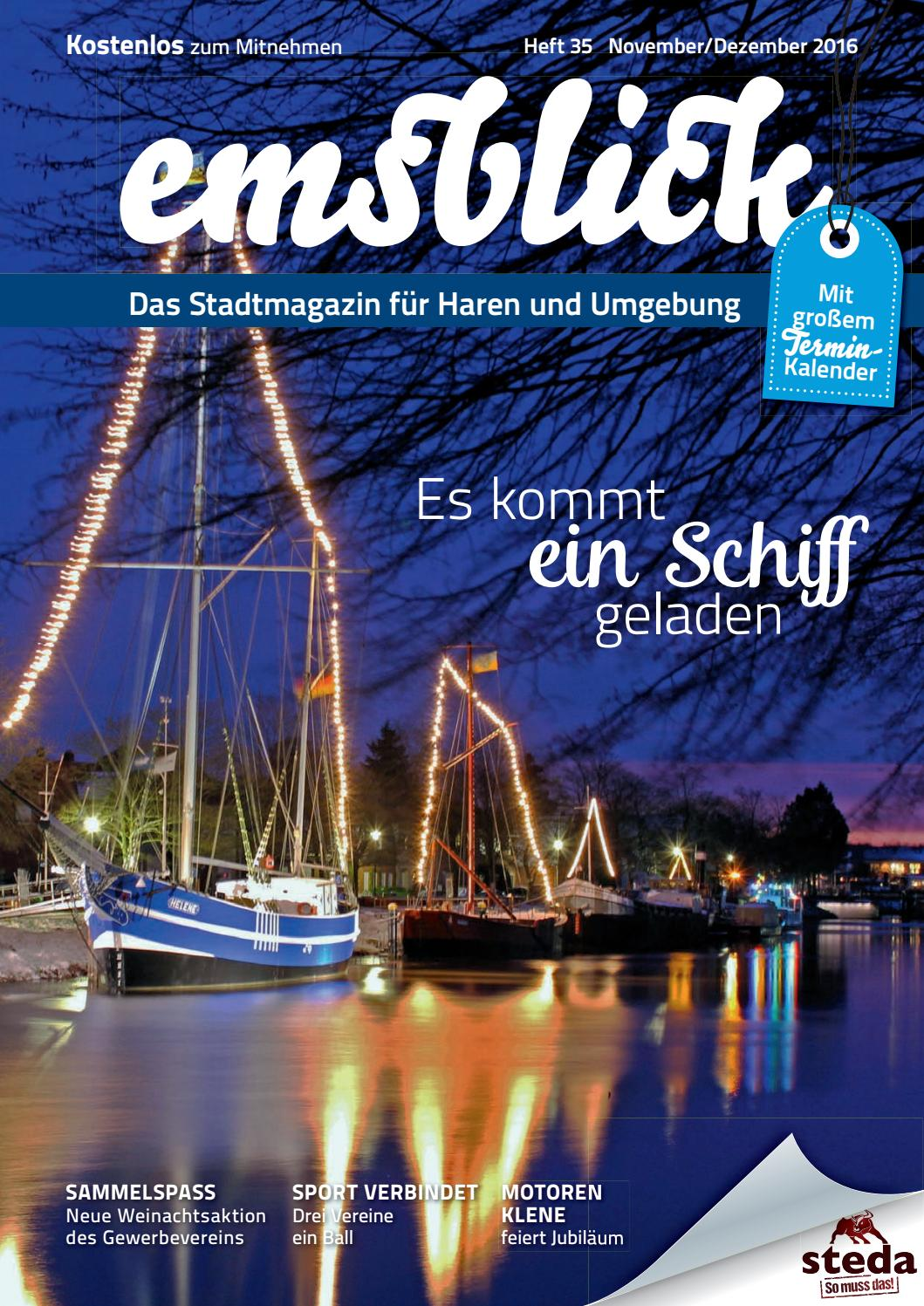 Heft 35 (November/Dezember 2016) - Emsblick Haren by Emsblick Medien ...
