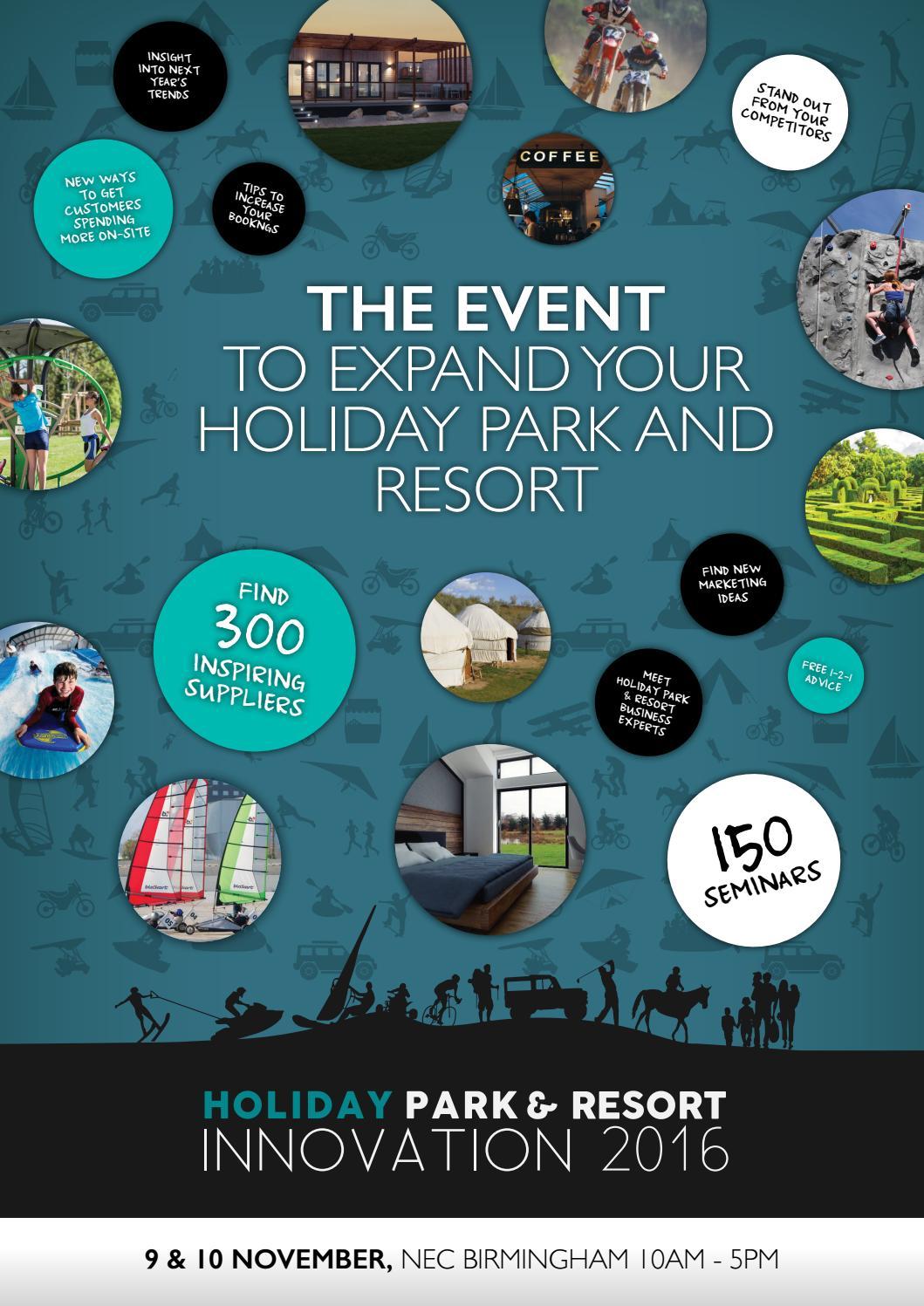 Holiday Park u0026 Resort Innovation Show 2016