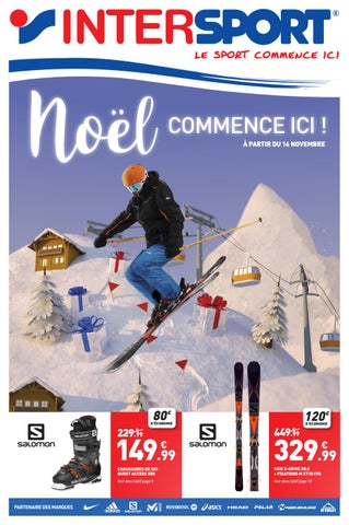 Intersport Noël By Sports Cadeaux Issuu France wqxFn40ATn