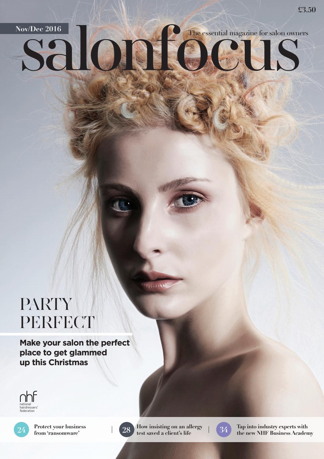 salonfocus november - december 2016 by national hairdressers