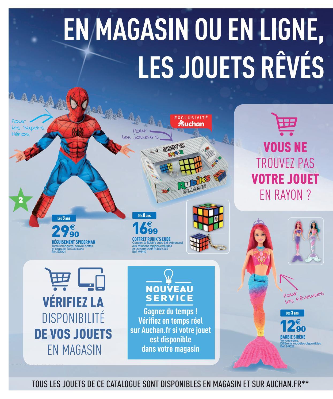 Catalogue jeux et jouets Auchan Noël 2016 |