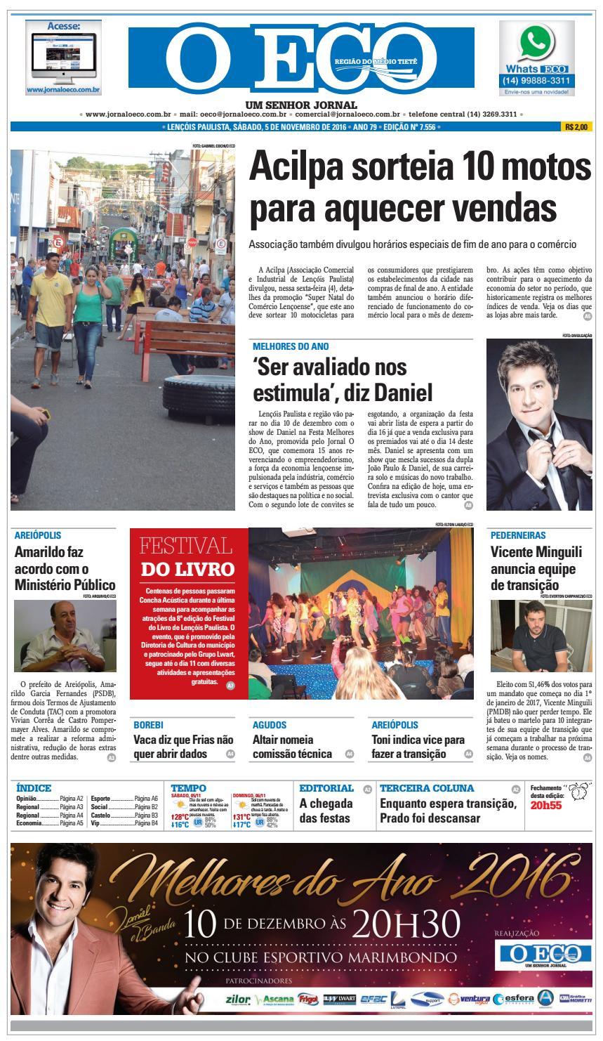 Jornaloeco 5 de novembro de 2016 by Jornal O ECO - issuu ef4f479bf66