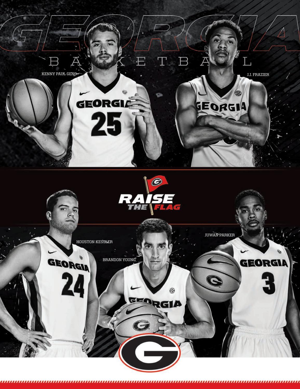 2016-17 Georgia Men's Basketball Media Guid by Georgia Bulldogs ...
