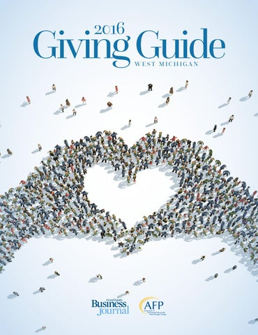 2016 giving guide supplement by grand rapids business journal issuu page 1 fandeluxe Gallery