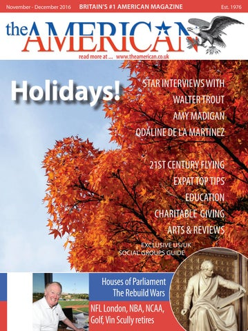The American November-December 2016 Issue 754 by Blue Edge