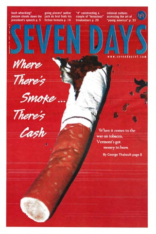 Seven Days September 26 2001 By Seven Days Issuu