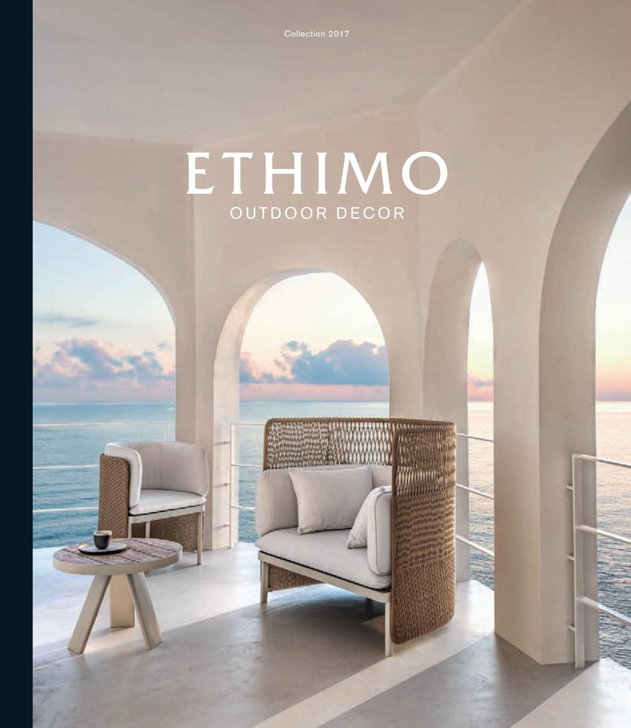 Come Abbinare Sedie Diverse ethimo collection 2017 by ethimo - issuu